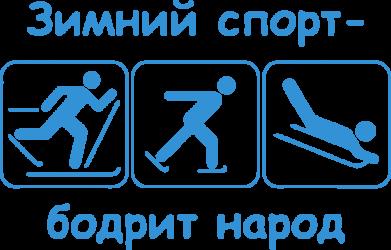 Принт Сумка Зимний спорт - FatLine