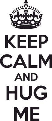 ����� ������� KEEP CALM and HUG ME - FatLine