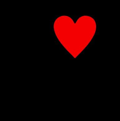 Принт Камуфляжная футболка I love hockey - FatLine