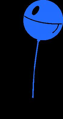 Принт Мужская футболка  с V-образным вырезом Дарт Вейдер с шариком - FatLine