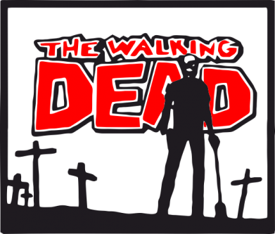 ����� ������ Walking dead logo - FatLine