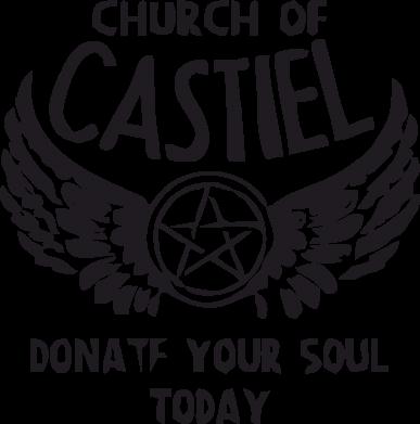 Принт Женская майка Church of Castel - FatLine