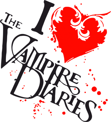 Принт Кружка 320ml I love The Vampire Diares - FatLine