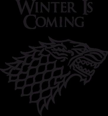 Принт Майка-тельняшка Winter is coming (Игра престолов) - FatLine