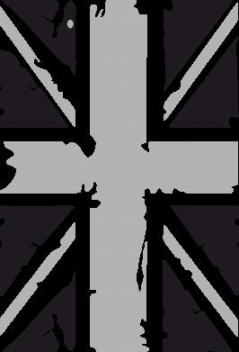 Принт Детская футболка Британский флаг - FatLine