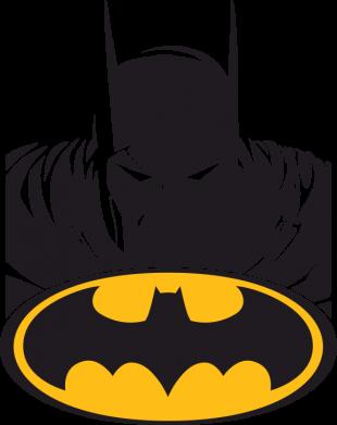 ����� ������ Batman face - FatLine
