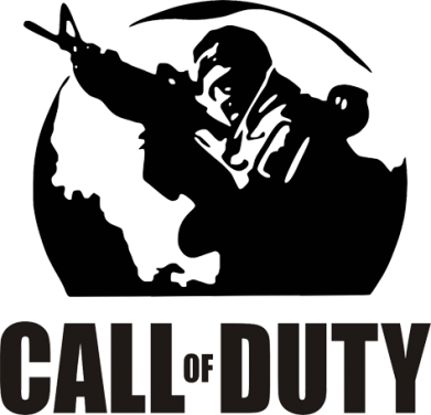 Принт Штаны Call of Duty Logo - FatLine