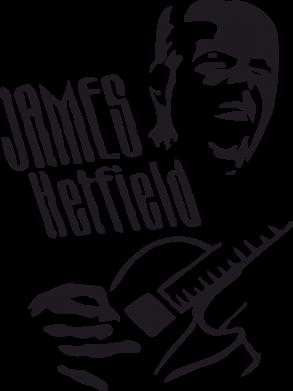 Принт Подушка James Hetfield - FatLine