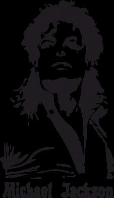 Принт Камуфляжная футболка Майкл Джексон - FatLine