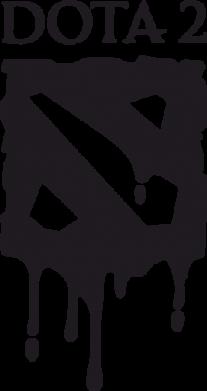 ����� ������� �������� Dota 2 Logo - FatLine