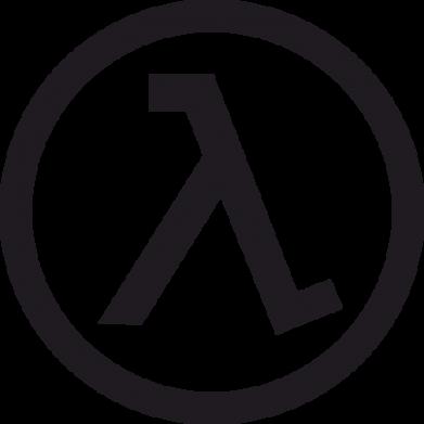 Принт Кружка 320ml Half Life Logo - FatLine