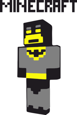 Принт Коврик для мыши Minecraft Batman - FatLine