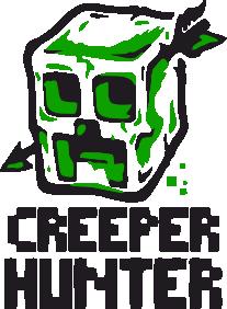 Принт Футболка с длинным рукавом Creeper Hunter - FatLine