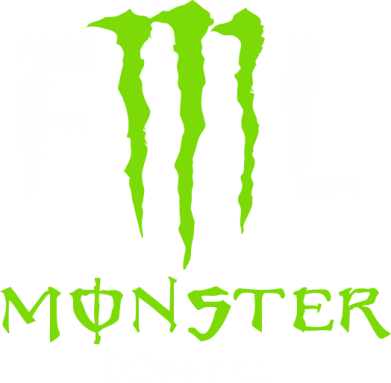 ����� ������� �������� � V-�������� ������� Monster Energy Downhill - FatLine