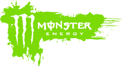 Принт Футболка Поло Monster Energy Drink - FatLine