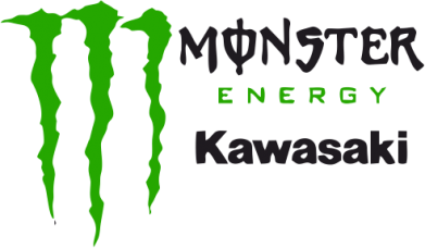 Принт Мужская майка Monster Energy Kawasaki - FatLine
