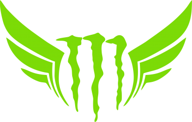 ����� ������� ��������  � V-�������� ������� Monster Energy ������ - FatLine