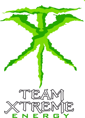 ����� ������� ��������  � V-�������� ������� Monster Energy Team Xtreme - FatLine