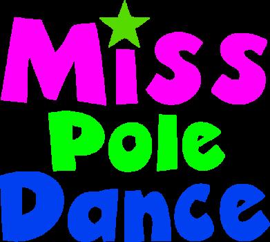 Принт Футболка Miss Pole Dance - FatLine