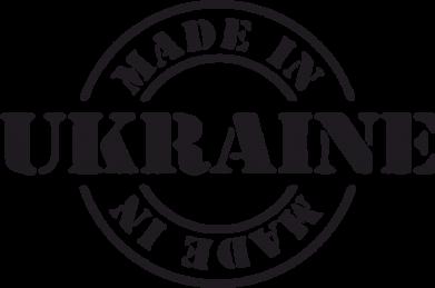 Принт Наклейка Made in Ukraine - FatLine