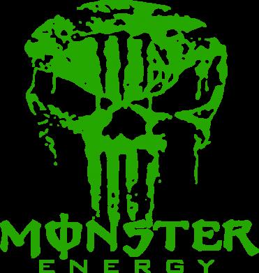 Принт Снепбек Monster Energy Череп - FatLine