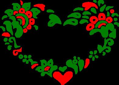 Принт Кружка 320ml I love Ukraine heart - FatLine