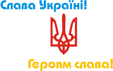 Принт Реглан Слава Україні! Героям Слава! - FatLine