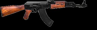 Принт Коврик для мыши АК-47 - FatLine