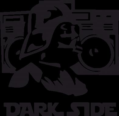 Принт Футболка Поло Темная сторона Star Wars - FatLine