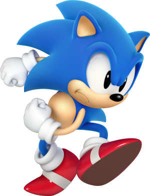 Принт Майка-тельняшка Sonic 3d - FatLine