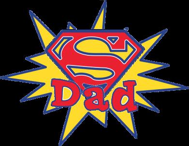 Принт Камуфляжная футболка Super Dad - FatLine