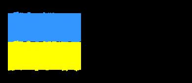 Принт Женская толстовка Made in Ukraine Logo - FatLine