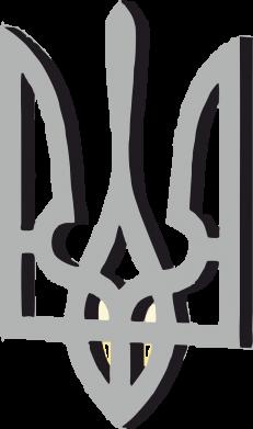 Принт Майка-тельняшка Двокольоровий герб України - FatLine