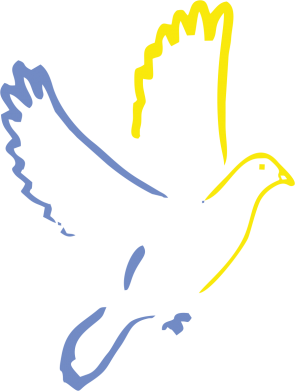 Принт Тельняшка с длинным рукавом Голуб миру - FatLine