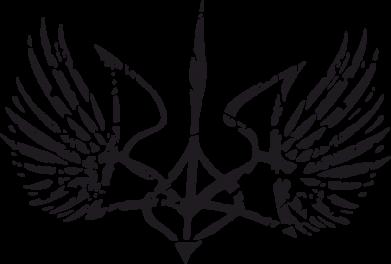 Принт Подушка Герб з крилами - FatLine