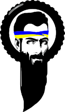 Принт Женская толстовка Борода патріота - FatLine