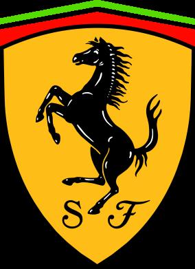 Принт Шапка Ferrari - FatLine