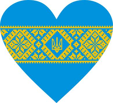 Принт Детская кепка Серце України - FatLine