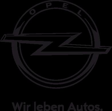 Принт Футболка Поло Opel Wir leben Autos - FatLine