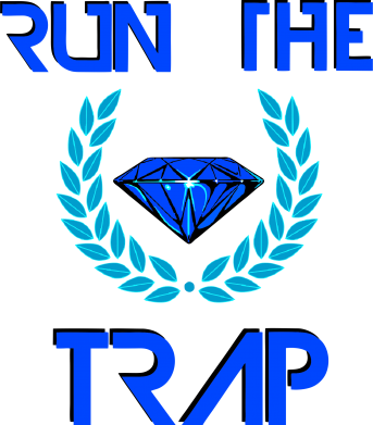 Принт Фартук Run the Trap Diamond - FatLine