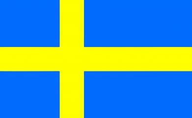 Принт Женская толстовка Швеция - FatLine