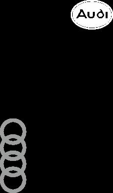 Принт Мужская майка Audi Logo - FatLine