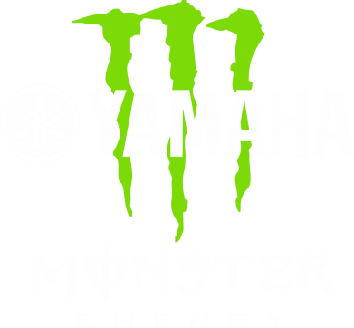 Принт Майка-тельняшка Yamaha Monster Energy - FatLine