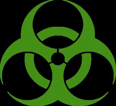 Принт Подушка biohazard - FatLine
