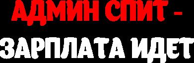 Принт Толстовка Админ спит-зарплата идет - FatLine