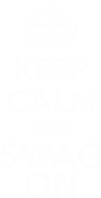����� ������� ����� KEEP CALM and SWAG ON - FatLine