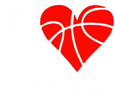 Принт Майка-тельняшка I love basketball - FatLine
