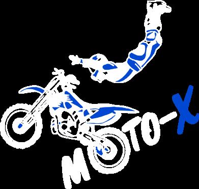 Принт Женская толстовка Moto-X - FatLine
