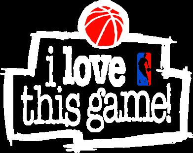Принт Мужская футболка  с V-образным вырезом I love this Game - FatLine