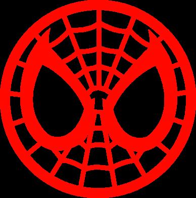 Принт Женская толстовка Спайдермен лого - FatLine